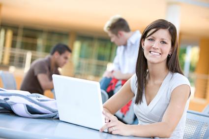 Arizona online high schools onlinehighschool online high school student girl laptop malvernweather Choice Image